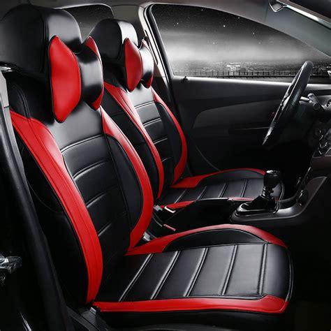 car seat covers pu leather originally  ferrari gmc