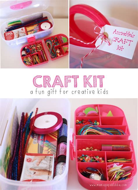 gifts for crafters craft kit gift mama papa bubba