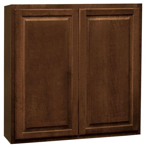 home depot cognac cabinets hton bay hton assembled 36x36x12 in wall kitchen