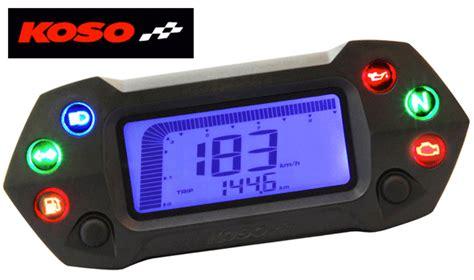 Koso Db01r+ Motorcycle Speedo Enduro Digital Instrument