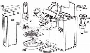 Keurig K150p Parts Diagram