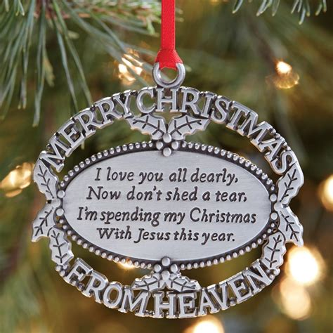 merry christmas from heaven lost loved one memorial