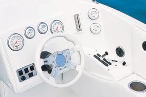 Gaffrig Boat Steering Wheel by 280 Raptor Performance Test Boats