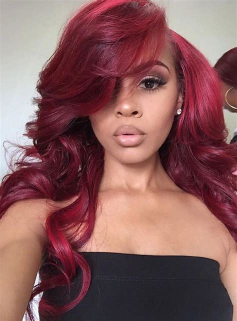 tinted hair styles reddd colored hair pint paigec color that hair 8010