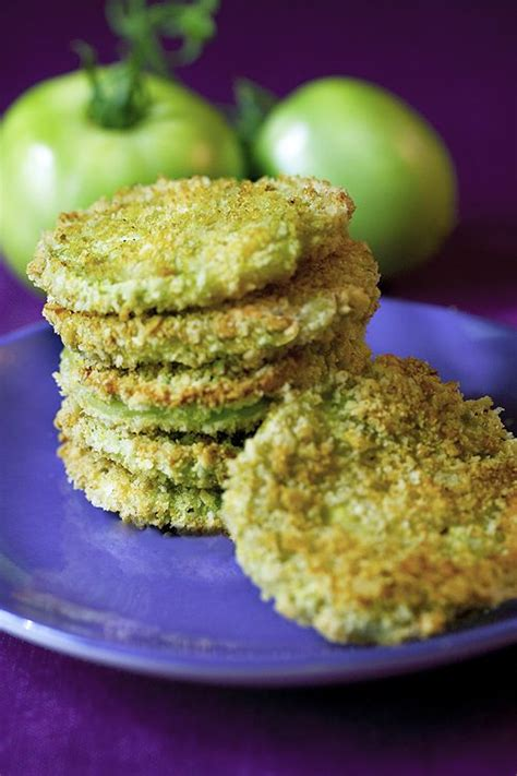 Baked Fried Green Tomatoes Recipe