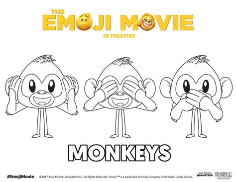 printable emoji  coloring pages theemojimovie