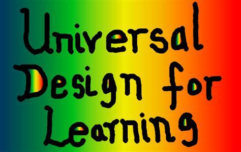 universal design for learning holesthenovel universal design for learning