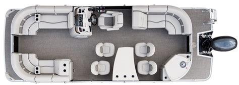 Bennington Pontoon Boats Floor Plans by Sx24 Dinette Pontoon Boats By Bennington