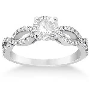infinity twist engagement ring infinity rings promise ring collection rings with