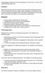 1 purchasing agent resume templates try them now With sample resume for purchasing agent