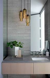Niche modern lighting bathroom