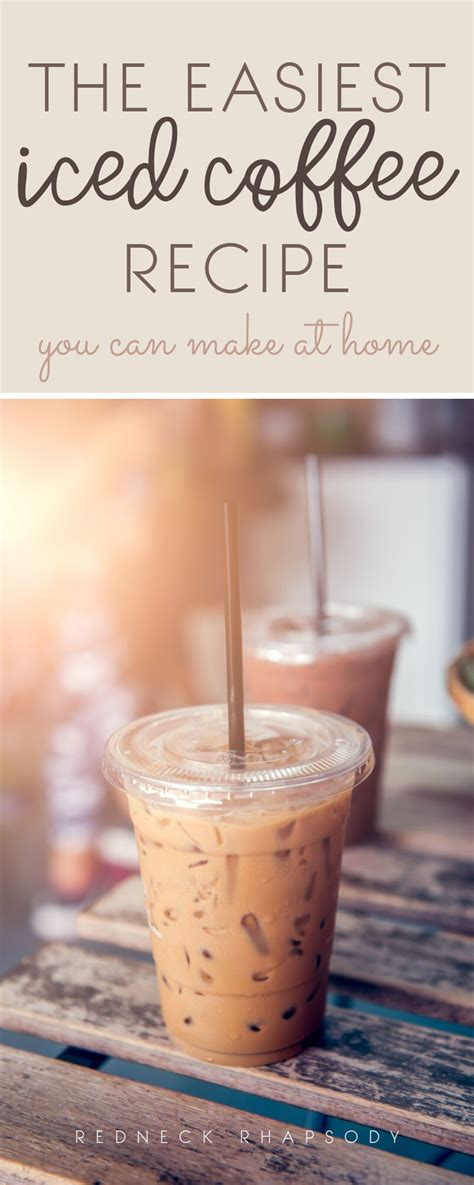 Coffee is kind of my weakness. Save time and money with this easy to make iced coffee ...