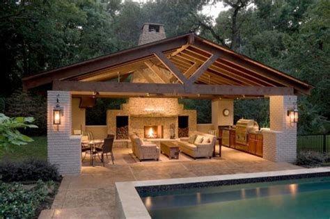 pool house designs with outdoor kitchen creative pergola designs and diy options 9146