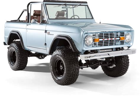 classic ford broncos   early model ford broncos