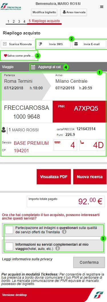 Mobile Trenitalia by Come Acquistare Da Mobile Il Biglietto Trenitalia