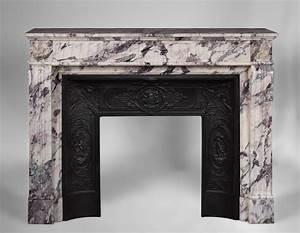 Plaque De Cheminée En Fonte Le Bon Coin : chemin e ancienne de style louis xvi en marbre br che ~ Farleysfitness.com Idées de Décoration