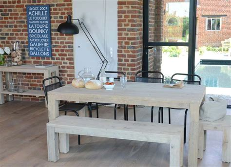table cuisine bois brut table cuisine bois brut wraste com