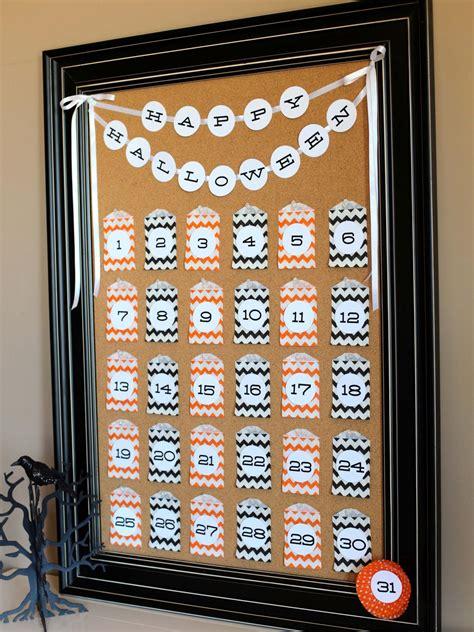 halloween countdown calendar  tos diy