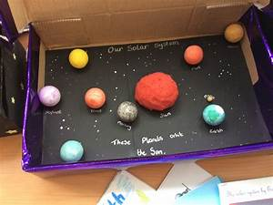 Year 5 Fantastic Space Models & Projects   Year 5