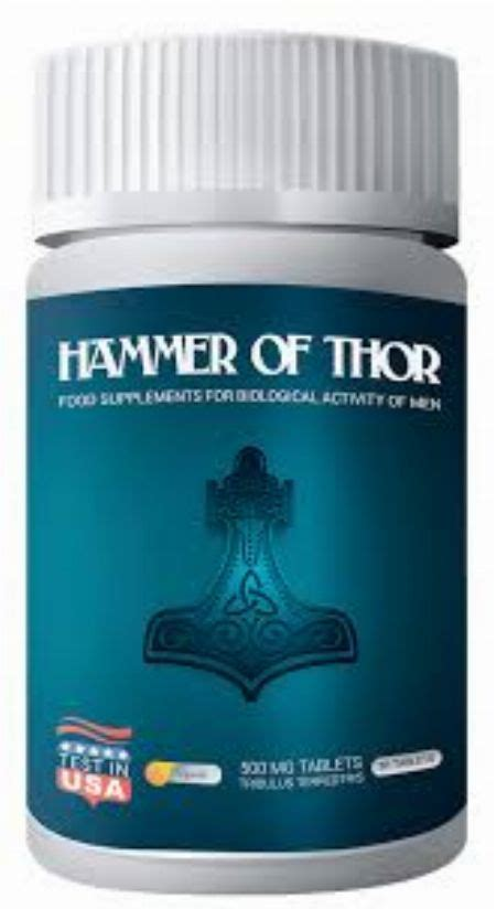 hammer of thor capsule from uk natural herbal medicine