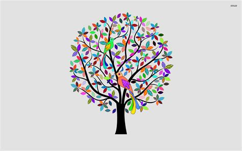 colourfull tree colorful tree drawings pictures to pin on pinterest pinsdaddy