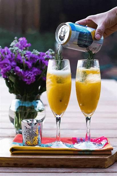 Drink Orange Sparkling Lemon Mango Posh