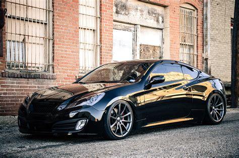 2013 hyundai genesis hyundai genesis coupe car tuning race cars van vehicles vroom vroom badass news. Stanced Hyundai Genesis Coupe on ACE Alloy Wheels — CARiD ...