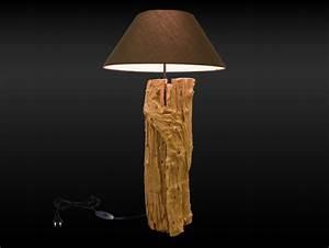 Lampes Bois Flotté : comment faire une lampe en bois flott ~ Melissatoandfro.com Idées de Décoration