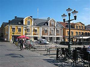 Plaza Principal  Linkoping  Suecia Foto Editorial