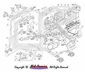 Wiring Diagram  Club Car Carryall 1