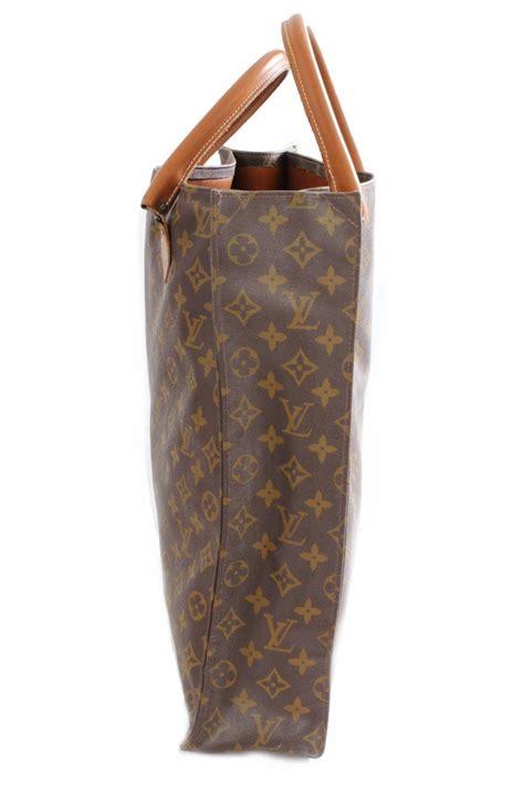 louis vuitton sac plat monogram tote bag removable pouch