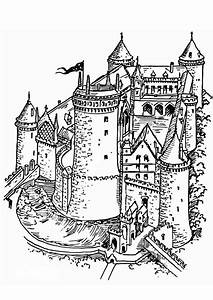 Coloriage Chteau Fort Img 13292