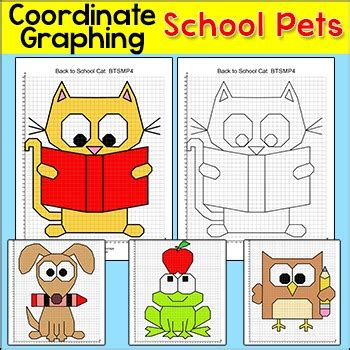 school pets coordinate graphing ordered pairs
