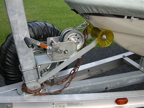 Boat Trailer Winch Adjustment by Pirate Marine Trailers In Ohio The Hull Boating