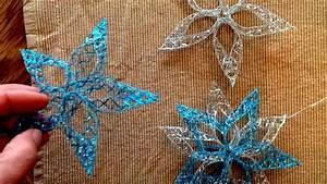 Mit Blättern Basteln : mit dem band shine und goldenfix textilkleber weihnachtsschmuck stern basteln youtube ~ A.2002-acura-tl-radio.info Haus und Dekorationen