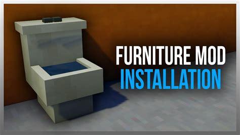 mod installer how to install mrcrayfish s furniture mod for 1 11 2 Furniture