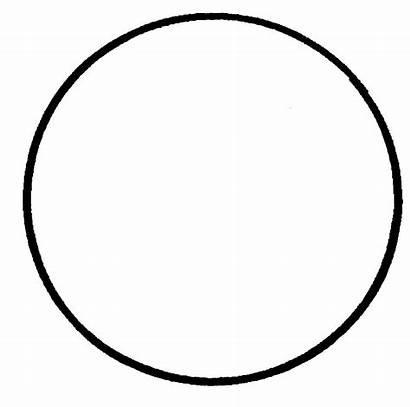 Circle Coloring Graphic Pages Circles Printable Shape