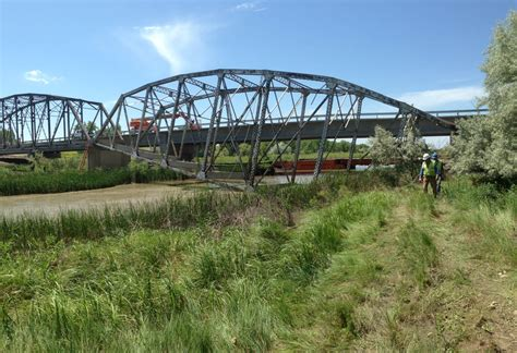 county road  bridge construction cheyenne river sd