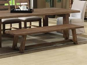 Modern bench dining table country dining tables with for Country dining table with bench