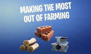 Fortnite Resource Farming Guide