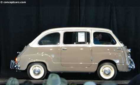 fiat multipla for auction results and data for 1958 fiat 600 multipla