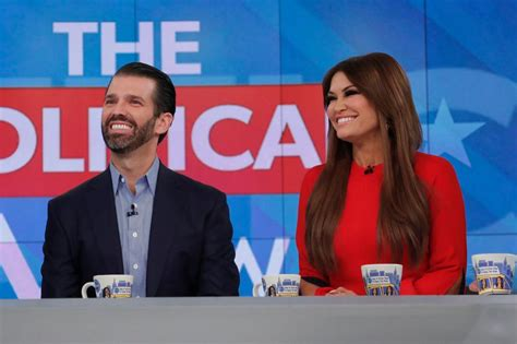 trump guilfoyle kimberly donald jr girlfriend official positive coronavirus fundraising tests son covid campaign tested fire eldest president