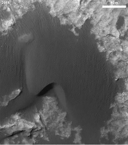 Dunes Bagnold Barchan Dune Mars Motion Phase