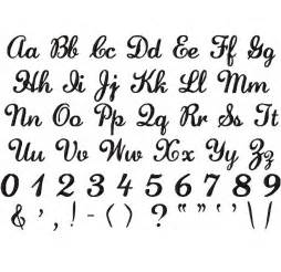 Letter and Number Fonts