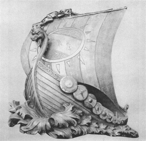 Viking Boat Drawing by The Gallery For Gt Viking Ship Drawings