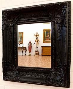 Miroir Baroque Noir : miroir baroque noir ~ Teatrodelosmanantiales.com Idées de Décoration