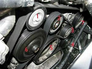 Mercedes-benz C-class W204 Why Are Accessory Belts Noisy