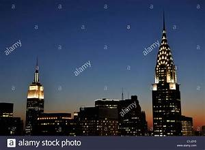 Chrysler Building and Empire State Building together at ...