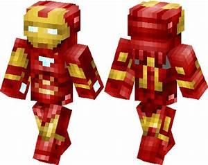 Iron Man Minecraft Skin Minecraft Hub