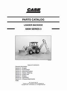 Case 580m Series 3 Loader Backhoe Parts Catalog Pdf